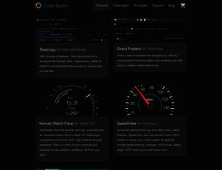 codesector.com screenshot