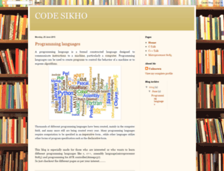 codesikho.blogspot.com screenshot