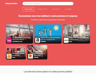 codespromotion.fr screenshot
