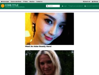 codetitle.com screenshot