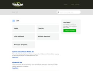 codex.wishlistproducts.com screenshot