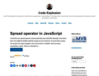 codexplo.wordpress.com screenshot