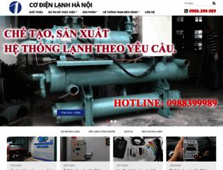 codienlanhhanoi.vn screenshot