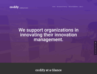 codify.in screenshot