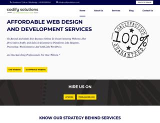 codifysolutions.com screenshot