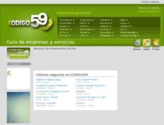codigo59.ec screenshot