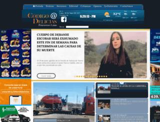 codigodelicias.com screenshot