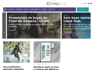 codigofonte.uol.com.br screenshot