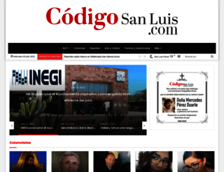 codigosanluis.com screenshot