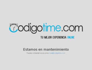 codigotime.com screenshot