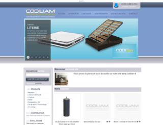 codiliam.fr screenshot