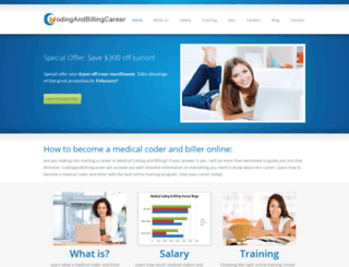 codingandbillingcareer.com screenshot