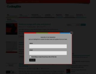 codingbin.com screenshot