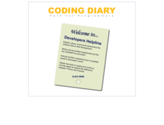 codingdiary.com screenshot