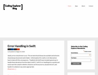 codingexplorer.com screenshot