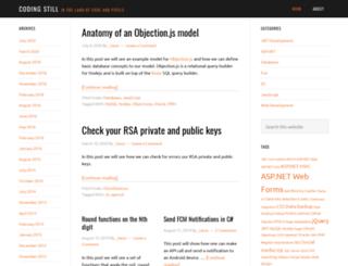 codingstill.com screenshot