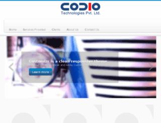 codiotechnologies.com screenshot