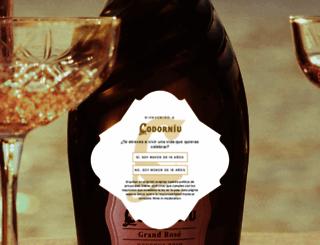 codorniu.com screenshot