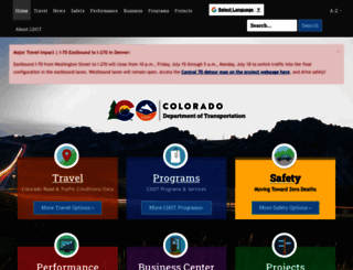 codot.gov screenshot