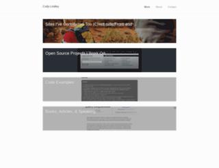 codylindley.carbonmade.com screenshot