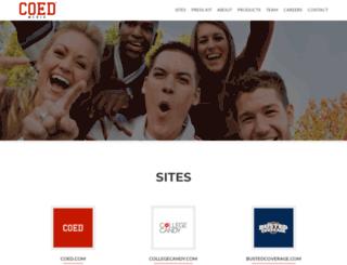 coedmediagroup.com screenshot