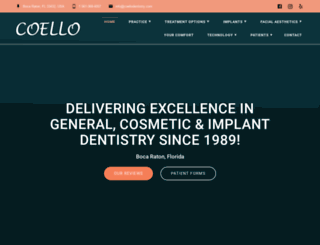 coellodentistry.com screenshot
