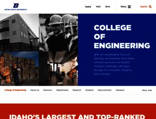 coen.boisestate.edu screenshot