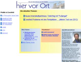 coesweb.de screenshot