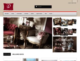 coeurdedeco.com screenshot