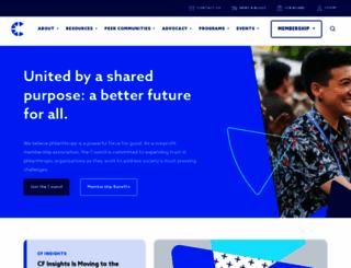 cof.org screenshot