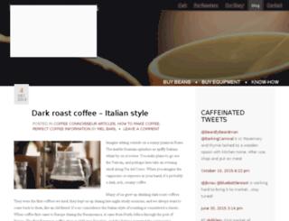 coffee-blog.perfectcoffee.com screenshot