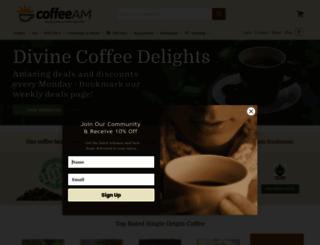 coffeeam.com screenshot