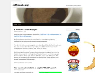 coffeeandesign.wordpress.com screenshot