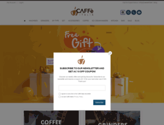 coffeeitalia.co.uk screenshot