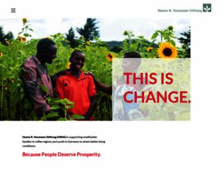 coffeekids.org screenshot