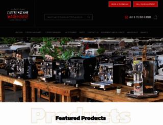 coffeemachine.com.au screenshot