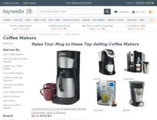 coffeemakers.com screenshot