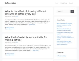 coffeemakersbest.com screenshot