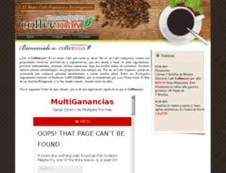 coffeemax.hol.es screenshot
