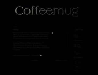 coffeemug2009.blogspot.com screenshot