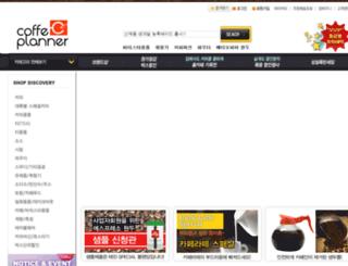 coffeeplanner.co.kr screenshot