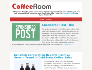 coffeeroom.com screenshot