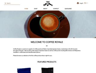 coffeeroyale.co.uk screenshot