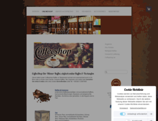 coffeeshop.de screenshot