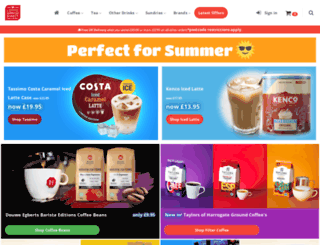 coffeesuppliesdirect.co.uk screenshot
