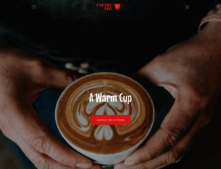 coffeeteabox.com screenshot