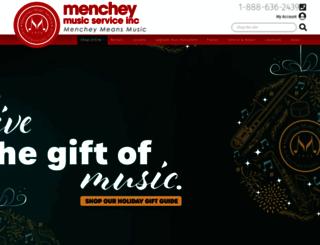 coffeymusic.com screenshot