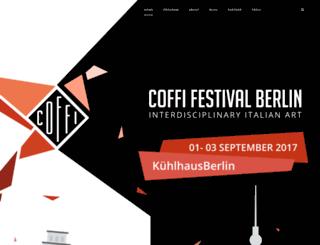 coffi-festival.de screenshot