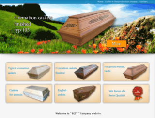 coffin-coffin.co.uk screenshot