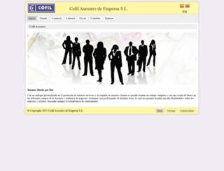 cofil.org screenshot